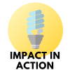logo for impact in action